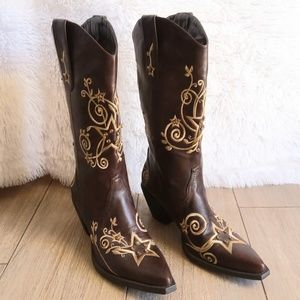 ROPER Jewelled Women's Cowboy Boots Size 8.5 / 9
